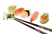book a sushi party