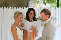 book a wedding officiant